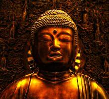 Buddha, Royal Museum Edinburgh Scotland by Den McKervey