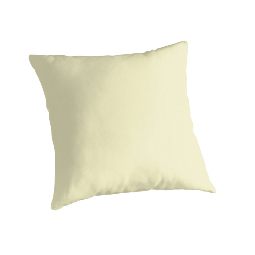 Pale Yellow Decorative Pillows :