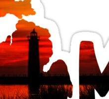 Home: Michigan Sticker