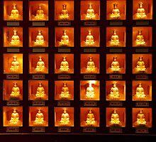 Buddhas, Tianning Si, Changzhou, Jiangsu by DaveLambert