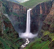 Maletsunyane Falls  by leksele