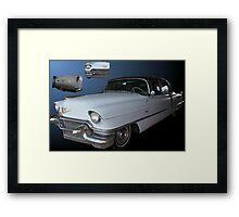 Moody Blue Cadillac Framed Print