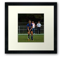 091611 176 0 field hockey Framed Print
