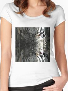_SAM1090_GIMP Women's Fitted Scoop T-Shirt