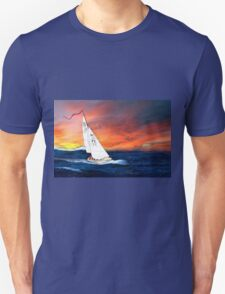 Me Flying in St Christopher - My Last Yacht T-Shirt