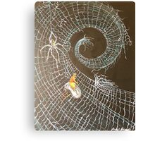 Surfing the web Canvas Print