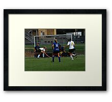 091611 187 0 field hockey Framed Print