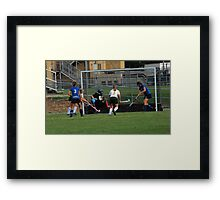 091611 194 0 field hockey Framed Print