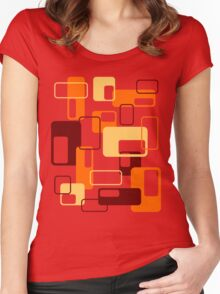 Retro Boxes Women's Fitted Scoop T-Shirt
