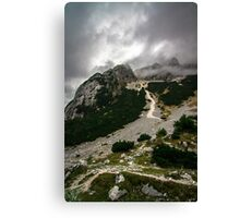 Slovenia Alps Canvas Print