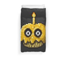 Five Nights at Freddy's 3 - Pixel art - Golden Cupcake Duvet Cover