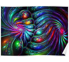 Spherical Colorful Twist  Poster