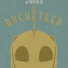 """""""The Rocketeer"""" Print. by chrisstringer"""
