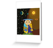 Old Wizard Greeting Card