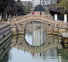 Bridge, Changzhou, Jiangsu by DaveLambert