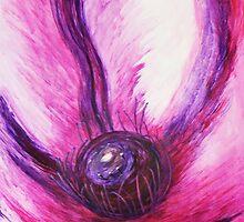 Clematis Flower's Crown by David Alexander Elder