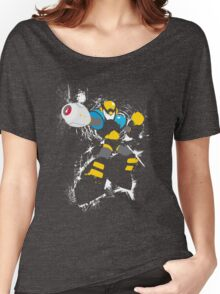 Flash Man Splattery Vector T Women's Relaxed Fit T-Shirt