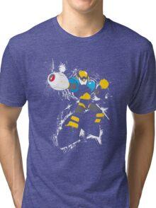 Flash Man Splattery Vector T Tri-blend T-Shirt