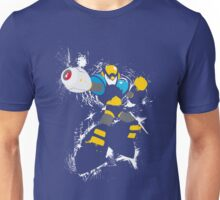 Flash Man Splattery Vector T Unisex T-Shirt
