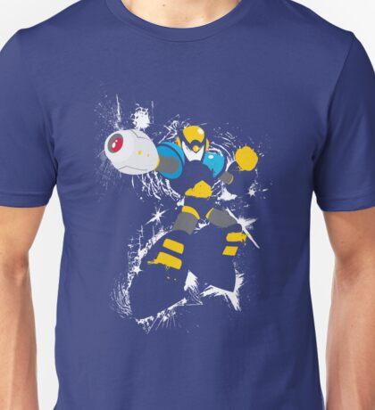 Flash Man Splattery Vector T Unisex T-Shirt
