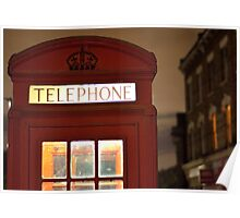 Red Phone box - London - England Poster