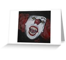 We All Float Here Greeting Card