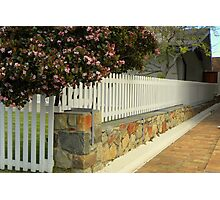 Picket Fencing Photographic Print