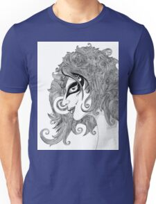 Winds in hair Unisex T-Shirt