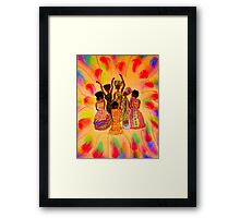 Sisterhood in FULL Effect Framed Print