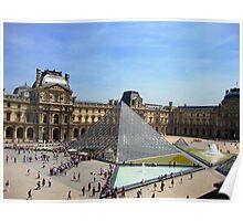 Louvre Pyramid - Paris Poster