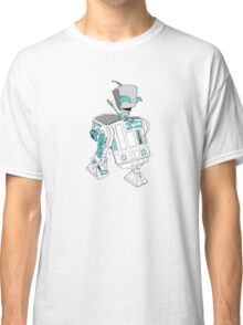 Two little robots - colour version Classic T-Shirt
