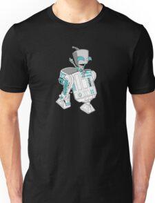Two little robots - colour version Unisex T-Shirt