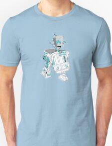 Two little robots - colour version T-Shirt