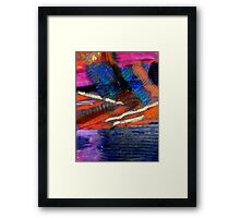 Rough Passage III Framed Print