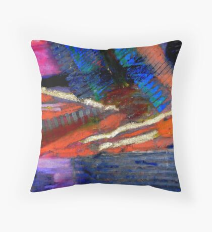 Rough Passage III Throw Pillow