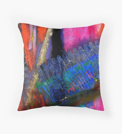 Rough Passage IV Throw Pillow
