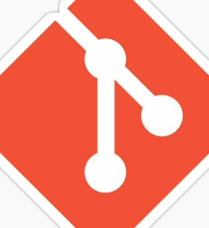 Git Logo Sticker