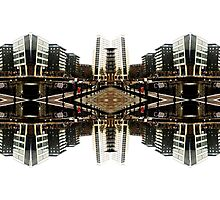 leeds city scape Photographic Print
