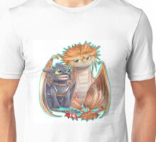 Httyd 2 - Toothless and Cloudjumper Unisex T-Shirt