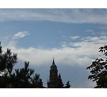 le nuvole...e il campanile della Cattedrale di Parma-Italy Photographic Print