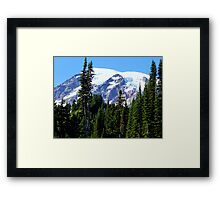Mount Rainier from Paradise Framed Print