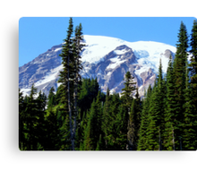 Mount Rainier from Paradise Canvas Print