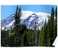 Mount Rainier from Paradise Poster
