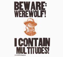 Beware Werewolf! Walt Whitman Kids Clothes
