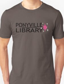 Ponyville Library Tee Unisex T-Shirt