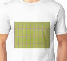 Green tile structure Unisex T-Shirt