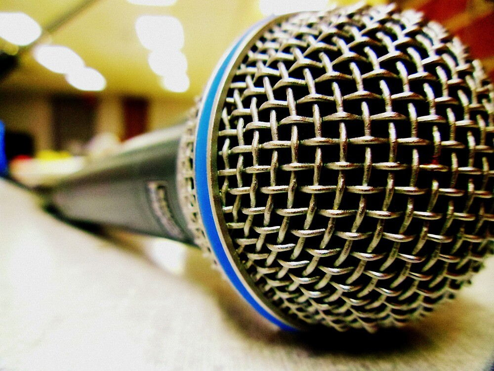 microphone by fairbro1994