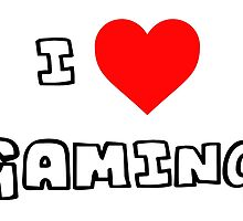 I Heart Gaming by PingusTees