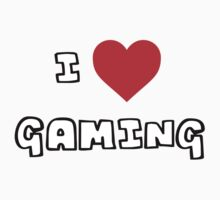 I Heart Gaming Kids Tee