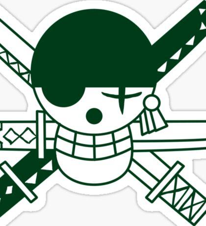 Zoro - Jolly Roger Sticker